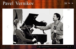 website «Pavel Vernikov»